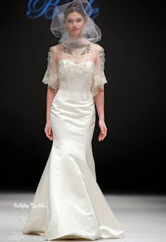 Badgley Mischka Fall 2015 Wedding Dresses Collection ~ GLOWLICIOUS