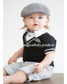 If we experienced life through the eyes of a child, everything would be magical and extraordinary. Baby Boy Dress, Baby Boy Outfits, Kids Outfits, Little Boy Fashion, Baby Boy Fashion, Kids Fashion, Cute Baby Boy Photos, Cute Baby Clothes, Grey Clothes