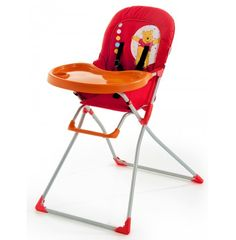 Hauck Disney Mac Baby Highchair - Winnie The Pooh Red