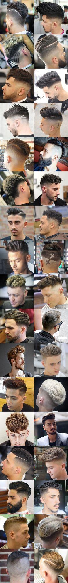 Cool Men's Hairstyles 2018 #menshairstyles2018