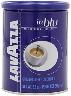 Lavazza in Blu Espresso Ground Coffee 88Ounce Tins pack of 8 -- Click image for more details. Note: It's an affiliate link to Amazon.