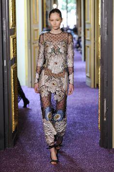 Couture Fall 2016 Trend: Florals | Francesco Scognamiglio Couture Fall 2016 [Photo: Dominique Maitre]