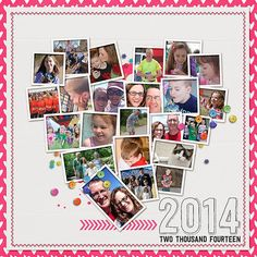 CHECK YOUR STASH - THESE WERE OFFERED FOR THE 25 DAYS OF FREEBIES DECEMBER 2014! Year In Review | 2014 was created as a fun and colorful way to capture your memories from the past year. From bold colors to fun elements this collection is sure to please. Include...