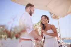 Martin & Katie exchange their happy vows on a sun-drenched day, at the Coral Beach Hotel, Paphos, #Cyprus