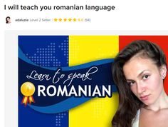 Fiverr freelancer will provide Online Language Lessons services and teach you romanian language including Lesson Length (in minutes) within 7 days Romanian Language, Language Lessons, Exotic, Teaching, People, Beautiful, Language Classes, Education, Folk