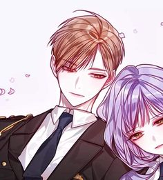 Anime Cupples, Hot Anime Boy, Anime Chibi, Kawaii Anime, Anime Guys, Anime Art, Pretty Anime Girl, Beautiful Anime Girl, Anime Love Story