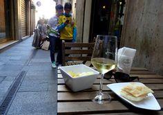 Aperitivo at Bar Enoteca Ristretto in Modena, Italy