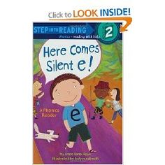 """Here comes silent e! This Step 2 Phonics Reader uses rhyme and visual clues to illustrate the important concept of the """"silent e""""—personified here in our main character!  Accompany with silent e games and activities."""