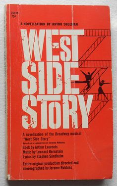 WEST SIDE STORY : Jets or Sharks?    Loved this in high school.  I practiced typing by typing the story...I'm not lying