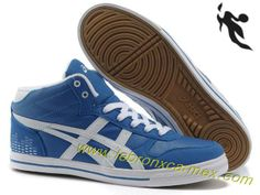 2013 Asics High Skateboard Shoes Sapphire Blue White 2013