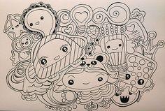 Kawaii Doodle | by Qski McGrewski