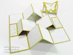 Mein kreativer Sonntag - Flipbook-Minialbum - Nellis Stempeleien