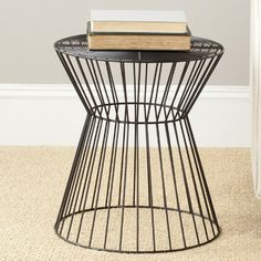 wire stool $87.99