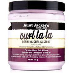 This works wonders for my frizzy hair Aunt Jackie's Curl La La Defining Curl Custard, 15 oz, Multicolor Natural Curls, Natural Hair Care, Natural Hair Styles, Natural Beauty, Curly Hair Care, Curly Hair Styles, Curly Girl, S Curl, Tight Curls