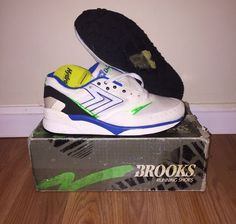 Deadstock w/ Box Vintage Brooks Mojo B04701 Runnings Shoes Sneakers Mens 7.5  #BrooksRunning #RunningCrossTraining