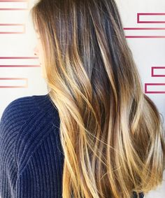 """""""Gloss Smudging"""" Is L.A.'s Secret To Natural-Looking Hair Color+#refinery29"""