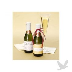 Personalized Sparkling Cider Mini Champagne Bottles (Case of 12)