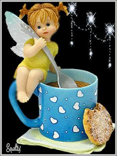 Have a sweet day, Good Morning Angel, Good Morning Coffee, Good Morning World, Good Morning Good Night, Good Morning Quotes, Animated Christmas Pictures, Animated Love Images, Love You Images, Cute Gifs