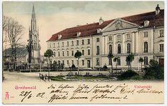 AK Greifswald gel. 28.6.1902 Universität