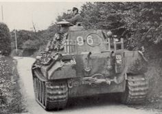 Panther Ausf A coded 96 of Hptm Pfannkuche's II Battalion 33rd Panzer Regiment 9th Panzer Division; Normandy August 1944.