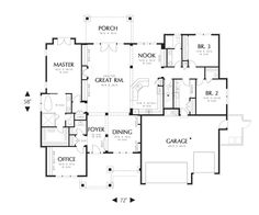 approved -Craftsman One story House Plan 22157AA -The Ashby | houseplans.co