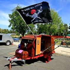 pirate teardrop - love the flag . . the beatings will continue until morale improves LOL!