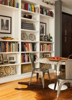 Saarinen and Tolix chairs