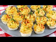 Muffin Tin Deviled Eggs - YouTube