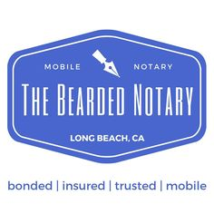 Reach out to me for all your notarization needs. I'm available 24/7 and come to you, wherever it's convenient.  Tel: 562.521.0269 Email: thebeardednotary@gmail.com  #notary #integrity #entrepeneurship #entrepreneur #smallbusiness #selfemployed #notarypublic #mobilenotary #thebeardednotary #longbeach #losangeles #orangecounty #longbeachnotary #ocnotary #orangecountynotary #losangelesnotary Mobile Notary, Notary Public, Long Beach, Integrity, Business Tips, Entrepreneur, Marketing, Data Integrity