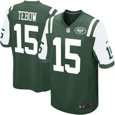 Nike Tim Tebow New York Jets Youth Game Jersey - Green - $19.99