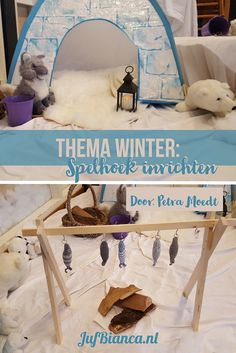 Winter Activities For Kids Eyfs + Eyfs Winter Activities - Modern Winter Activities For Kids, Winter Crafts For Kids, Winter Kids, Creative Activities, Role Play Areas, Polo Norte, Polar Animals, Dramatic Play Centers, Small World Play