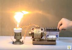 Electric Science Free Energy Using Magnet With Light Bulb At Home Magnetic Motor, Magnetic Field, Zero Point Energy, Radiant Energy, High Voltage, Light Bulb, Magnets, Electric, Science