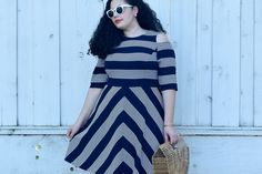 Stripes can be flattering, whether you're a size 2 or a size 22. Stripes are classic, versatile and look amazing on everyone with any body type.