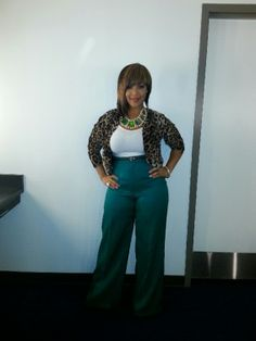 "Erica hosted, and performed tonight at ""How Sweet The Sound"" She looks Gorgeous -- Tonight she was Styled By Goo!"