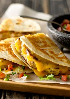 Quesadillas have never been so easy.