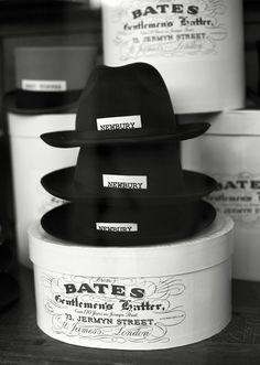 Great Packaging……..Bates Gentlemen's Hatter at Hilditch & Key, Paris « The Sartorialist