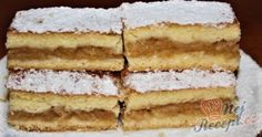 Czech Recipes, Ethnic Recipes, New Cake, Apple Pie, Tiramisu, Vanilla Cake, Ham, Nom Nom, Cake Recipes