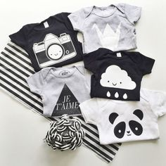 black and white | kids clothing