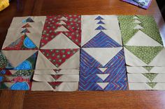 """I am so happy to be joining Melissa again for her Star Light Star Bright QAL . This week our """"homework"""" was to sew up the geese bloc. Quilting Tips, Quilting Tutorials, Quilting Designs, Quilt Design, Stained Glass Quilt, Flying Geese Quilt, Quilt As You Go, Half Square Triangles, Quilt Blocks"""