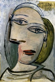 Picasso: Portrait de femme (Marie-Thérèse) 1939
