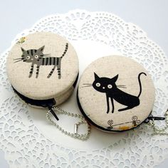 6.5cm Macaron / jewelry pouch / Macaron coin purse by EasternLife, $15.00