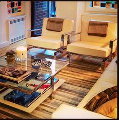 Gigi Hadid's New York City apartment designed by her mom, Yolanda Foster - LOVE!