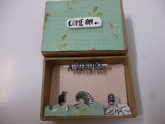 Come on an Adventure - Diorama Matchbox by Gail at ShyLilyandDakota (Etsy) N/A