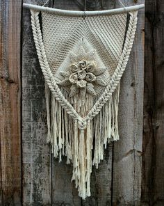 Macrame Wall Hanging Home Decor Boho Style Sale - Picture Frames - Wall Decor - Handmade with love in Abakan, Russia by MACRAMESSAGE | ethnic | ♥ DaWanda ♥ Handmade ♥ Unique Products ♥ Gift Ideas ♥ DIY ♥ Design ♥ Made with Love ♥