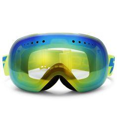 b2bcec92dcd386 LY - 54 - 1 Spherical Ski Goggles UV Protection Lens Skiing Glasses  Snowboard Glasses Snow. Lunette ...