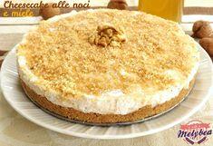 #Cheesecake alle #noci e #miele