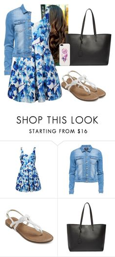"""Dream catcher💙💙"" by hannahmcpherson12 ❤ liked on Polyvore featuring Ally Fashion, Yves Saint Laurent and Casetify"