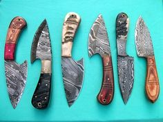 HANDMADE DAMASCUS STEEL Knife  Overall Length: 8 inches   Handle Material:  Handle made of Ram Horn   Blade Hardness: 56-60 HRC  THE BLADE   THIS KNIFE DAMASCUS STEEL BLADE High quality Original damas