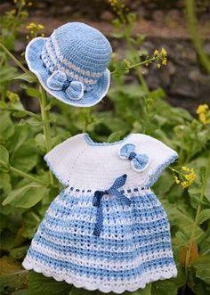16 Beautiful Handmade Baby Gift Sets with Free Crochet Patterns,dress…