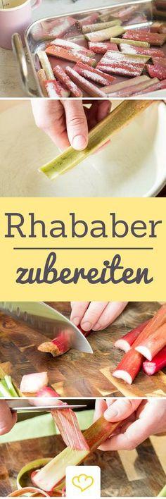 Roh essen oder kochen? Hier erfährst du alles, was du über Rhabarber wissen musst! Ist Rhabarber Obst oder Gemüse? Wann hat Rhabarber Saison? Rot, grün, sauer oder mild, welche Rhabarbersorten gibt es? Ist er frisch? Wo lager ich ihn am besten? Und viele mehr! Natürlich findest du auch noch 9 leckere Rhabarber-Rezepte! Klick dich durch!